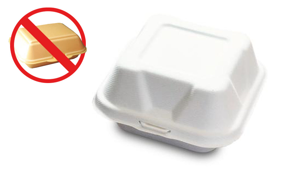 bagasse burger box