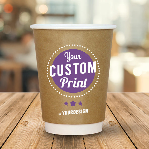 Branded Coffee Cups