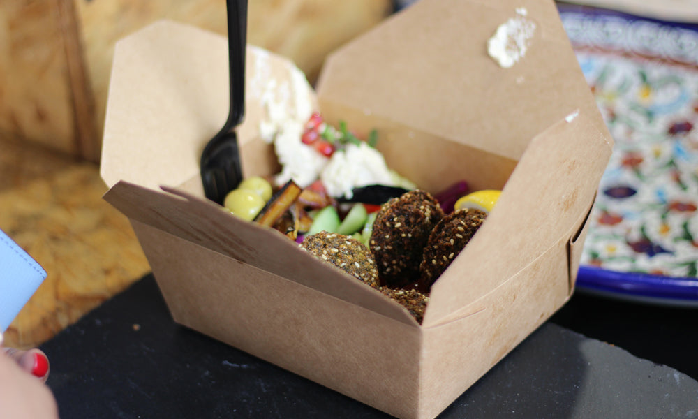 cardboard food boxes for street food packaging eco friendly