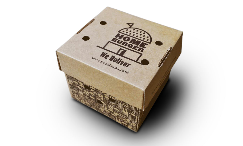 personalised burger boxes