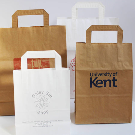 Economy Paper Carriers 70gsm (1 Colour Print)