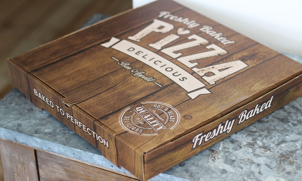 personalised pizza boxes