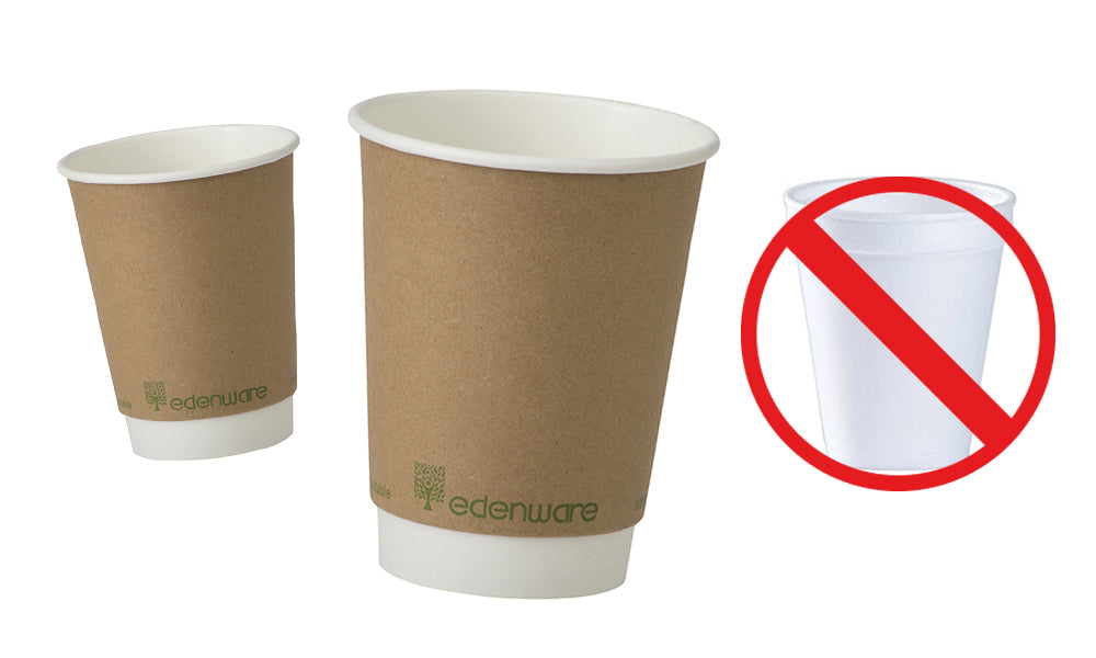 Edenware compostable coffee cups