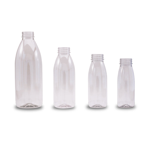PET Bottles with lids