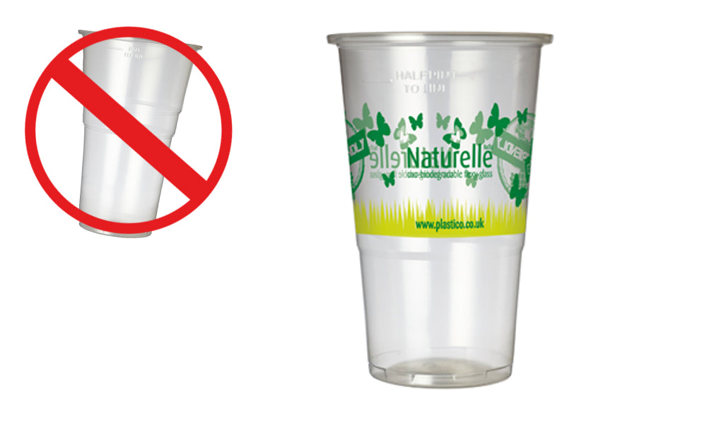 oxo biodegradable plastic glasses