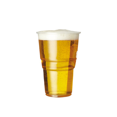 plastic half pint glasses