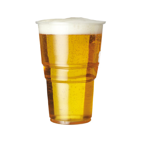 plastic pint glasses