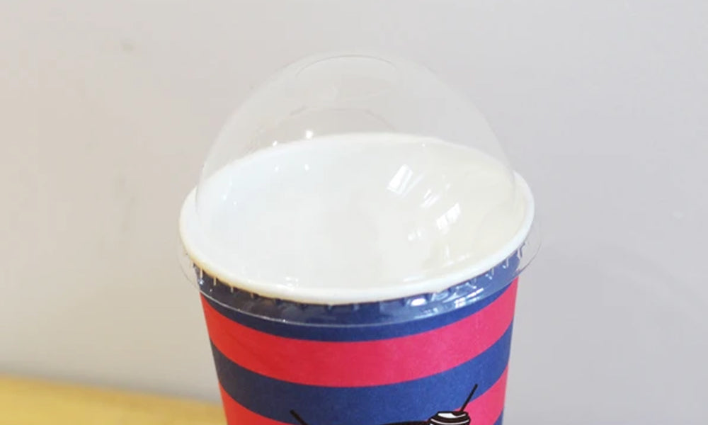 plastic dome lids for paper cups