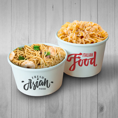 printed food containers