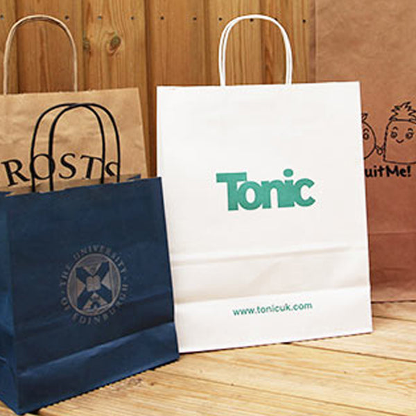 personalised takeaway bags