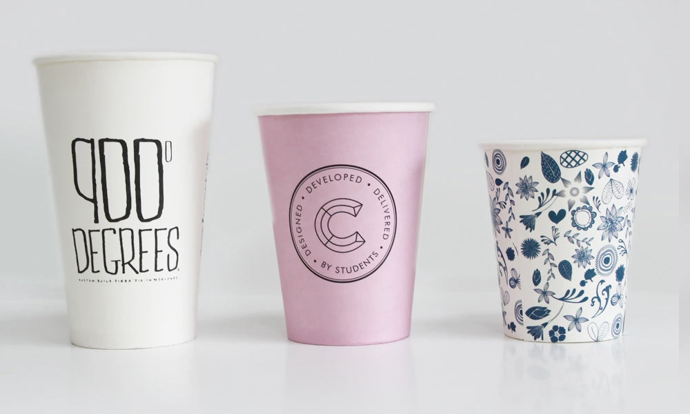printed paper cups for pubs and beer gardens