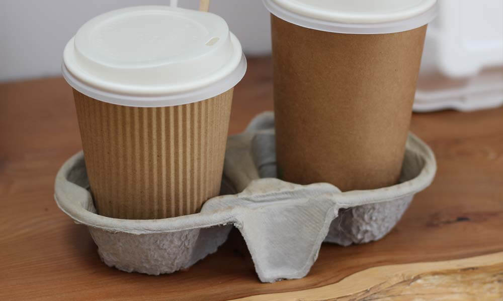 cup carrier pulp tray