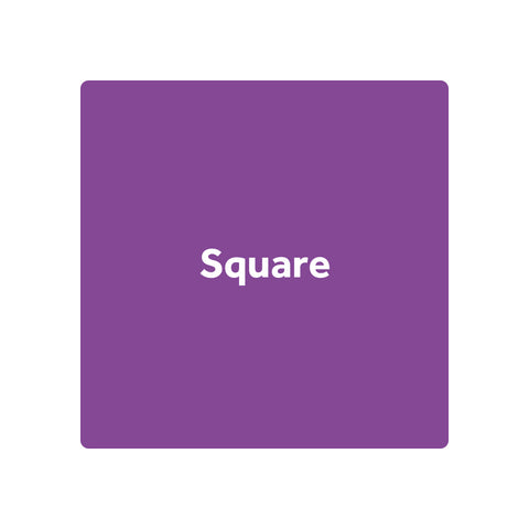 Square Stickers - Premium Paper / Eco Friendly