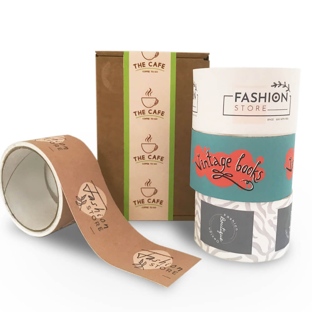 custom printed packaging tape for boxes