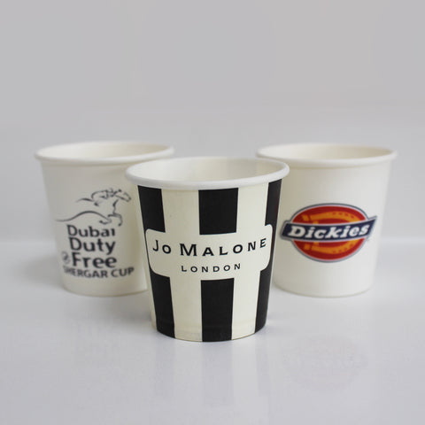 4oz Custom Branded Espresso / Sample Cups