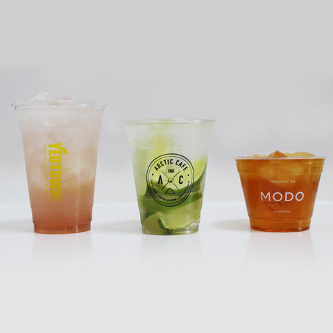 Personalised Plastic Cups - 100% Recyclable