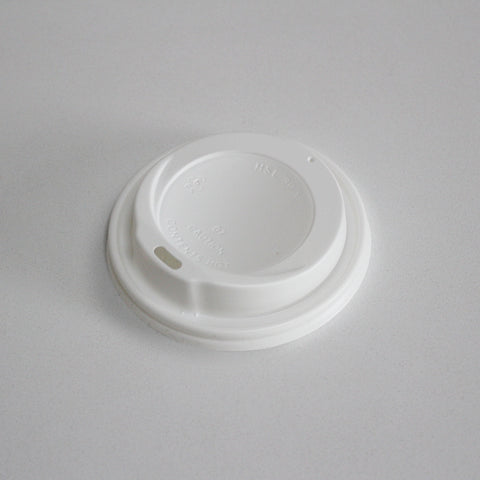 Plastic Lid Ø80mm (Fits 8oz DW & SW Custom Printed Cups)