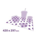 custom printed greaseproof paper sheets