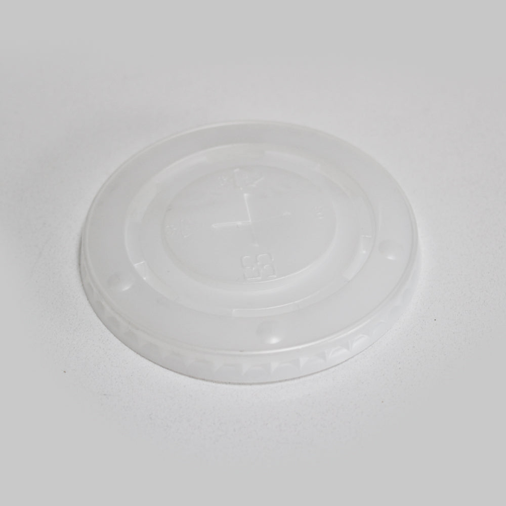 flat plastic lid for paper cups