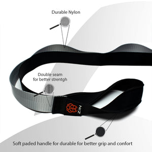 2 x ZIN Stretching Strap with 12 Loops - Gray