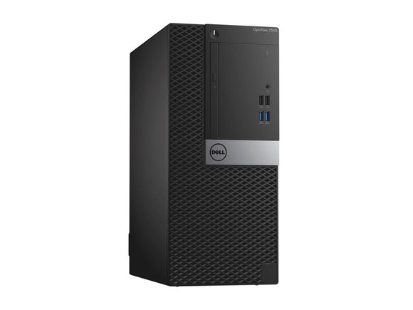Dell Optiplex 7040 Mini Tower i7 6700 3.4GHz, 16GB, 1TB, DVDRW, Windows 10 Professional