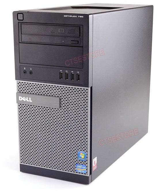 Dell GX790 Tower i5 2400 3.1GHz, 4GB, 500GB, DVDRW, Windows 10 Professional