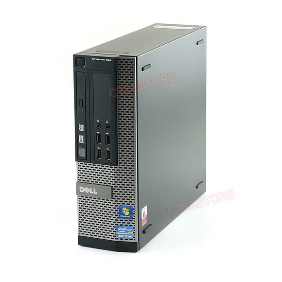 Dell GX990 SFF i5 2400 3.1GHz, 4GB, 500GB, DVD, Windows 10 Professional