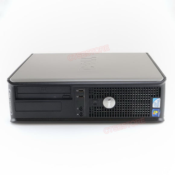 Dell 380 Desktop Core2Duo 2.93G, 4G, 250G, DVDRW, Windows 10 Home
