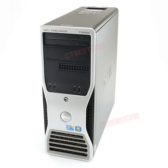 Dell Precision T3500 Workstation Computer Xeon 2.4GHz, 4GB, 500GB, DVDRW, Windows 10 Home