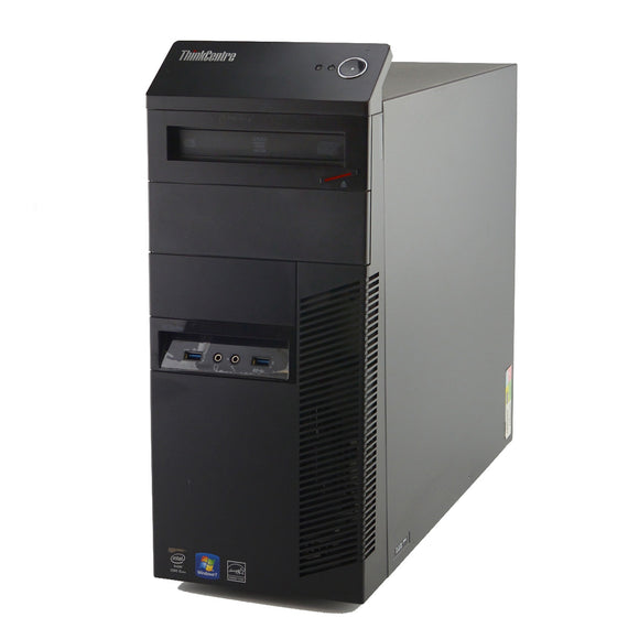 Lenovo ThinkCentre M93p Tower i5 4570 3.2GHz, 8GB, 500GB, DVDRW, No Operating System