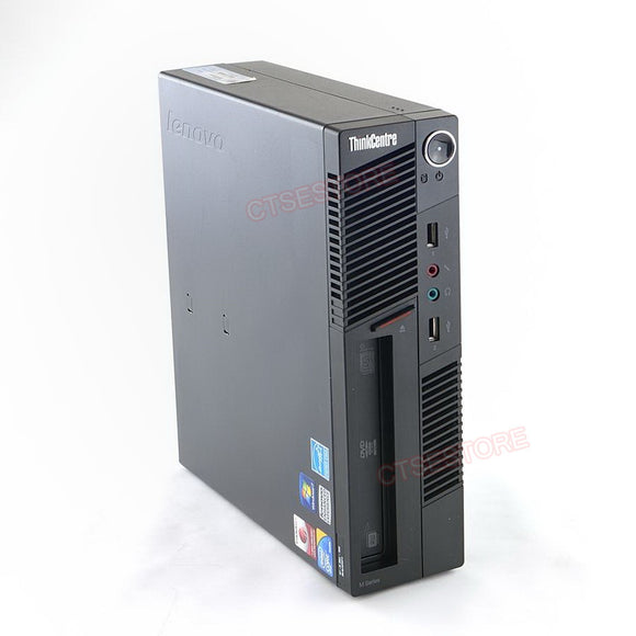 Lenovo M90p 3853 USFF i5 3.2GHz, 4GB, 250GB, DVDRW, Windows 10 Home/Professional