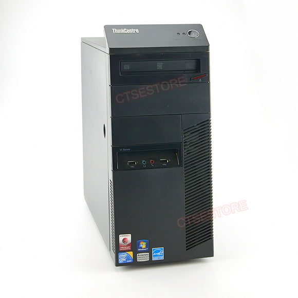 Lenovo M90p 5852 Tower i5 3.2GHz, 4GB, 250GB, DVDRW, Windows 10 Professional