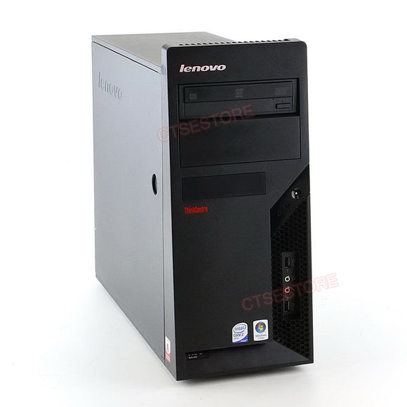 Lenovo M58 7484 Tower Core2Duo 3.0GHz, 4GB, 250GB, DVDRW, Windows 10 Professional
