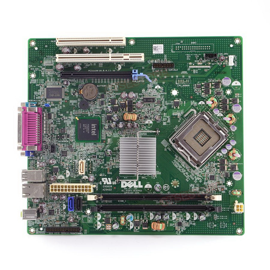 Terrific Dell Lga 775 Motherboard 0Hn7Xn For Optiplex 380 Desktop Computer Best Image Libraries Sapebelowcountryjoecom