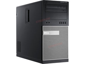 Dell 7010 Tower i5 3570 3.4GHz, 8GB, 500GB, DVDRW, Windows 10 Professional