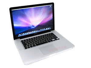 "15"" Apple Macbook PRO A1286 Laptop i7 620M 2.66GHz, 4GB, 500GB, DVDRW, Webcam, OS High sierra 10.13"