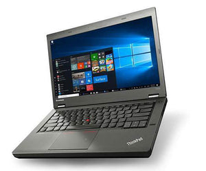 "Lenovo ThinkPad T440p 14"" Laptop i5 4300M 2.6GHz, 8GB, 128GB SSD, DVDRW, Webcam, Windows 10 Professional"