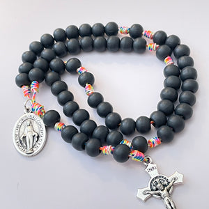 Wood Rosary | Multicolored