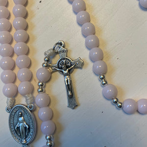 Lady Pink Rosary