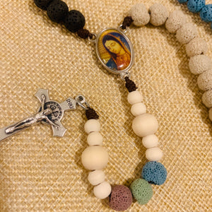 Personalized Coral Reef Cool Rosary