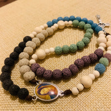 Load image into Gallery viewer, Personalized Coral Reef Cool Rosary