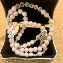 Load image into Gallery viewer, Personalized Fighting Cancer Rosary
