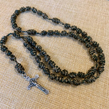 Load image into Gallery viewer, Soldier Camo Knotted Rope Rosary