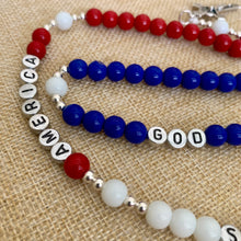 Load image into Gallery viewer, God Bless America Rosary, Patriotic Rosary