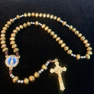 Immaculada Gold Rosary