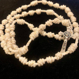 Heavenly Hosts Rope Rosary