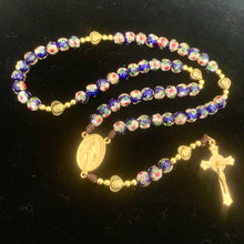 Load image into Gallery viewer, Our Lady's Blue Rosary