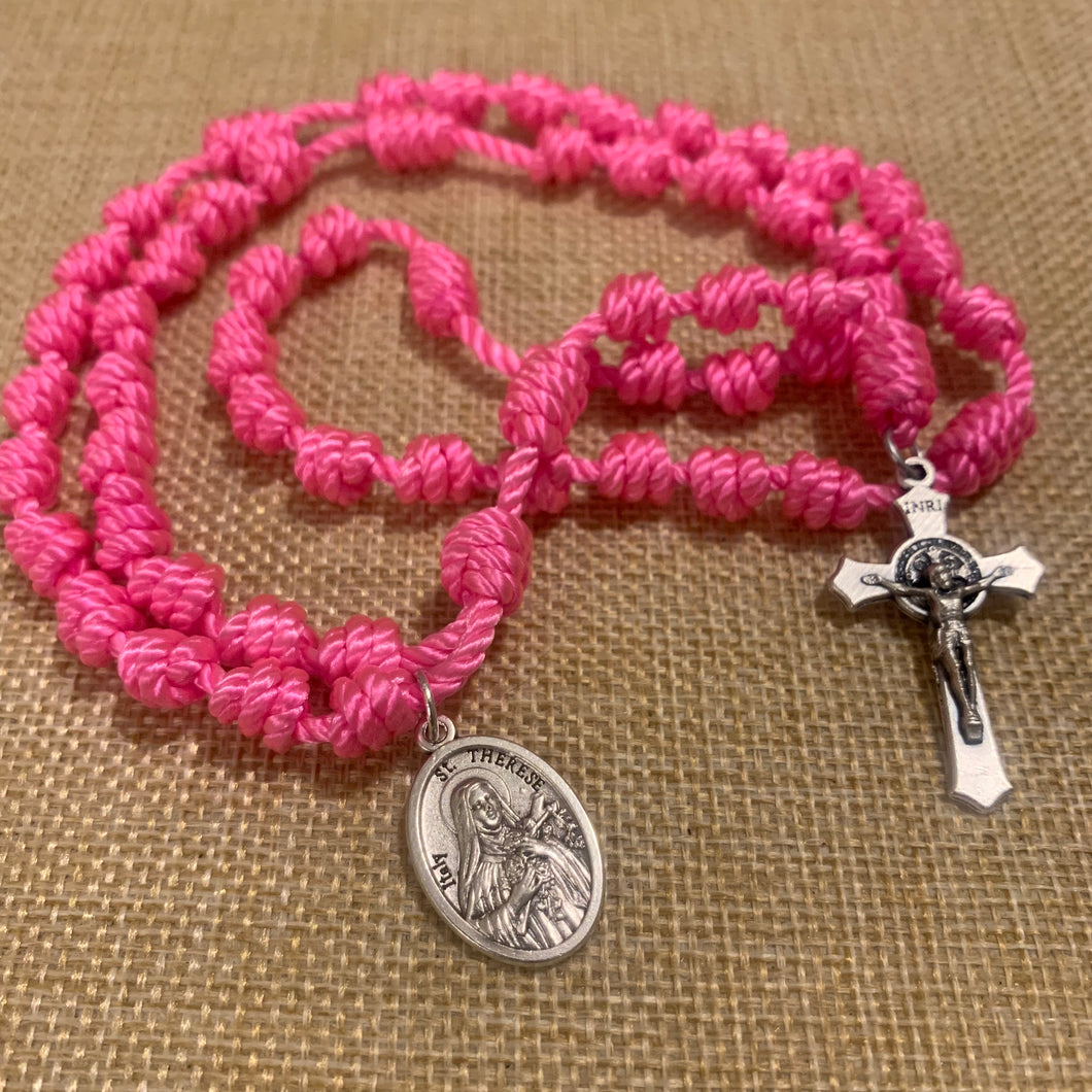 St. Therese Rope Rosary