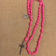 Load image into Gallery viewer, St. Therese Rope Rosary