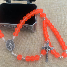 Load image into Gallery viewer, Blaze Orange Rosary